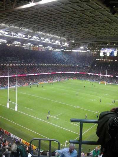 Principality Stadium, section: U16, row: 13, seat: 25