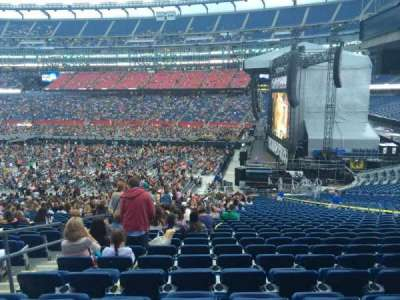 Gillette Stadium, section: 129, row: 36, seat: 6