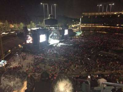 Dodger Stadium, section: 39RS, row: T, seat: 1