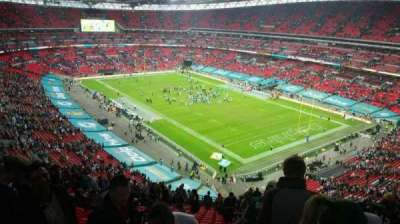 Wembley Stadium, section: 519, row: 21, seat: 167