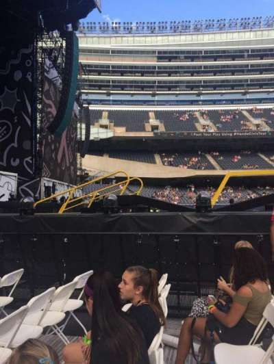 Soldier Field, section: A4, row: 5, seat: 9