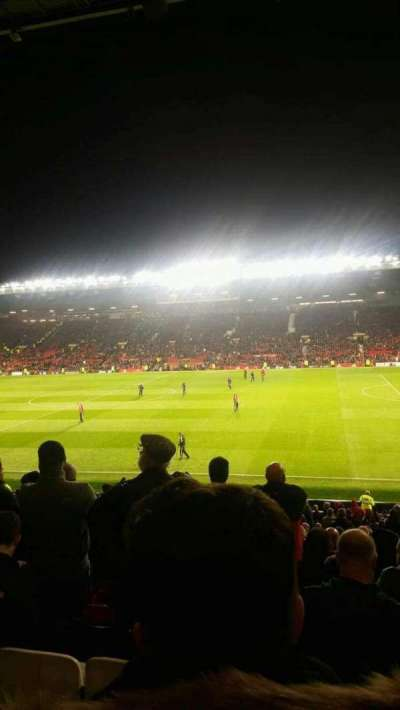 Old Trafford, section: n2409, row: 16, seat: 63