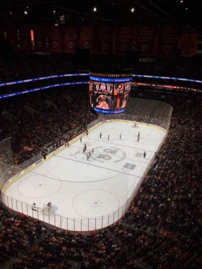 Wells Fargo Center section Balcony Suite 1