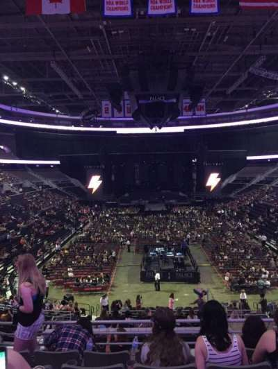 The Palace of Auburn Hills, section: 120, seat: 14