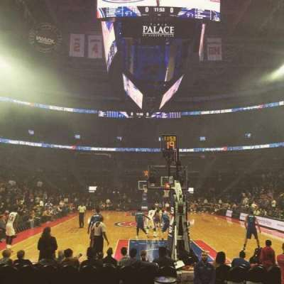 The Palace of Auburn Hills, section: 120B, row: FFF, seat: 5
