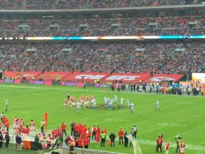Wembley Stadium, section: 141