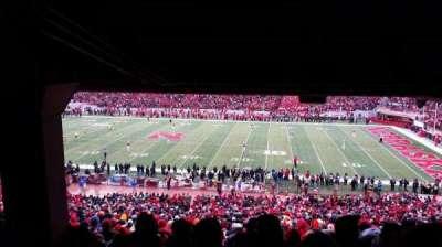 Memorial Stadium, section: 24, row: 44, seat: 16