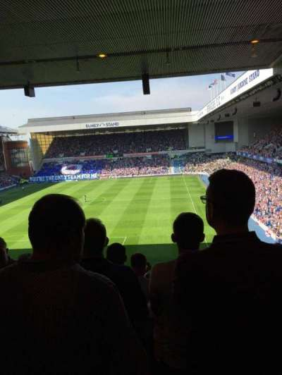 Ibrox Park, section: Copland rear, row: S, seat: 0021