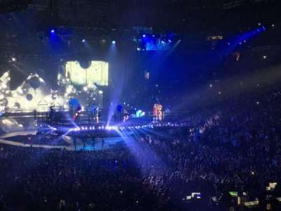 Oracle Arena, section: 109, row: 23, seat: 18