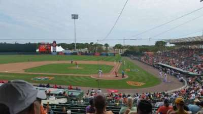 Ed Smith Stadium, section: 215, row: 14, seat: 12