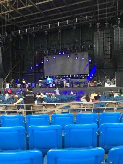 MidFlorida Credit Union Amphitheatre, section: 6, row: F, seat: 13