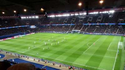 Parc des Princes, section: 407, row: 21, seat: 38