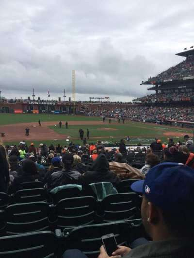 AT&T Park section 124