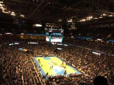 Chesapeake Energy Arena, section: 303