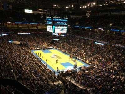Chesapeake Energy Arena, section: 304