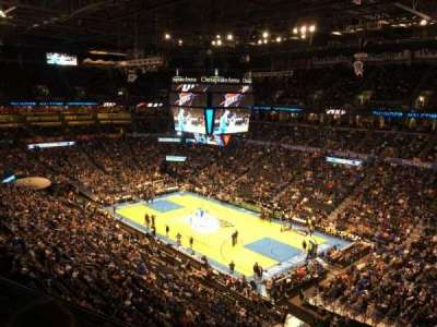 Chesapeake Energy Arena, section: 305