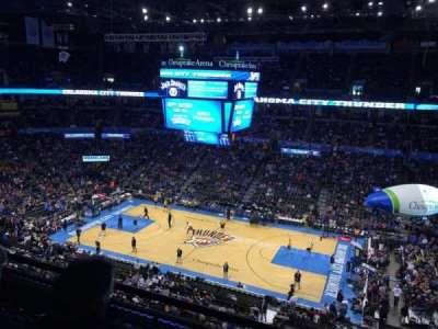Chesapeake Energy Arena, section: 309
