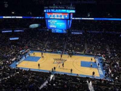 Chesapeake Energy Arena, section: 310