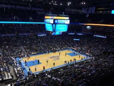 Chesapeake Energy Arena, section: 311
