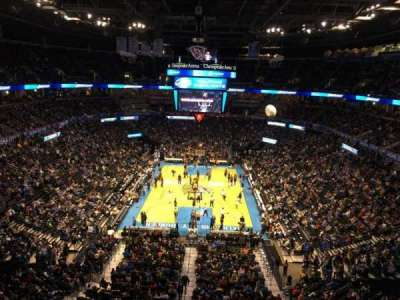 Chesapeake Energy Arena, section: 316