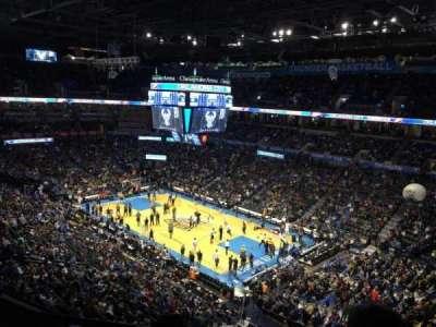 Chesapeake Energy Arena, section: 320