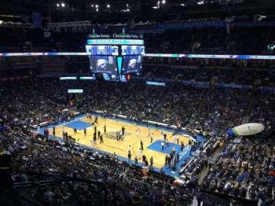 Chesapeake Energy Arena, section: 321