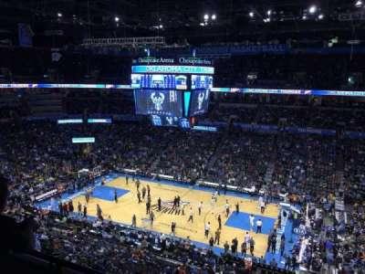 Chesapeake Energy Arena, section: 322
