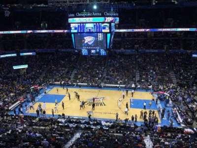 Chesapeake Energy Arena, section: 323