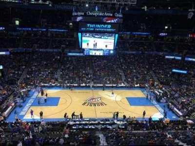 Chesapeake Energy Arena, section: 324