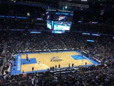 Chesapeake Energy Arena, section: 325