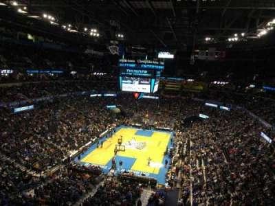 Chesapeake energy arena, section: 330