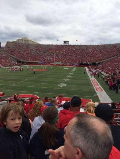 Memorial Stadium, section: 34