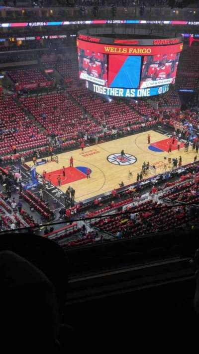 Staples Center, section: 304, row: 7, seat: 19-20