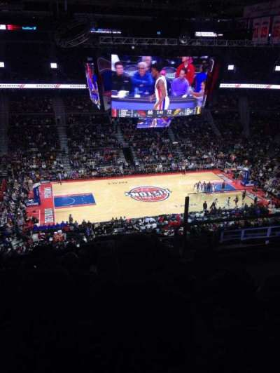 The Palace of Auburn Hills, section: 217, row: 13, seat: 4