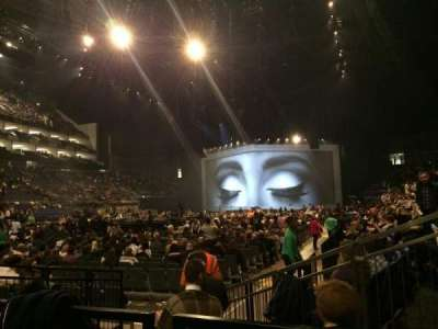 The O2 Arena, section: 107, row: BB, seat: 237