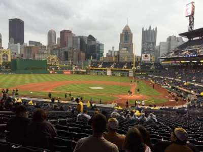 PNC Park, section: 119, row: CC, seat: 28