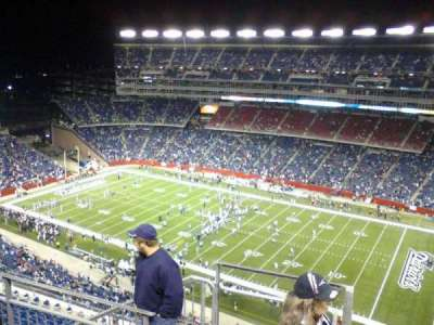 Gillette Stadium, section: 327, row: 11, seat: 23