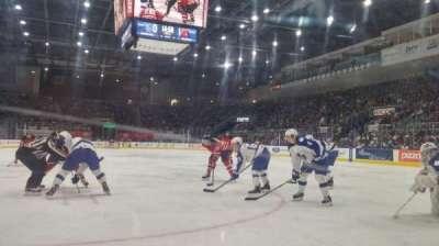 Ricoh Coliseum, section: 116, row: AA, seat: 3