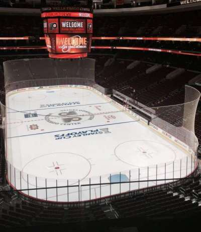 Wells Fargo Center section 218