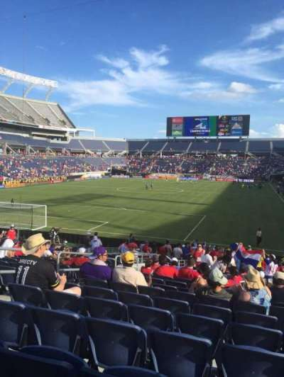 Camping World Stadium, section: 145, row: Aa, seat: 31