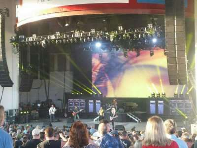 PNC Bank Arts Center, section: 202, row: 3, seat: 1