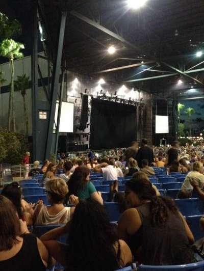 Coral Sky Amphitheatre, section: 8, row: U, seat: 40