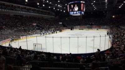 Ricoh Coliseum, section: 114, row: D