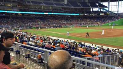 Marlins Park, section: 6, row: 2, seat: 7