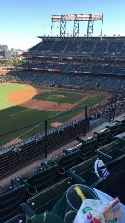 AT&T Park, section: 331, row: C, seat: 18