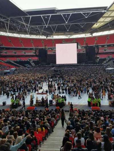 Wembley Stadium, section: 11, row: 38, seat: 245