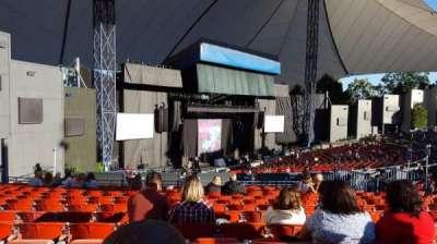Shoreline Amphitheatre, section: 204, row: O, seat: 15