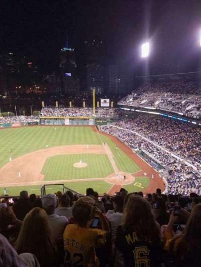 PNC Park, section: 321, row: u, seat: 23