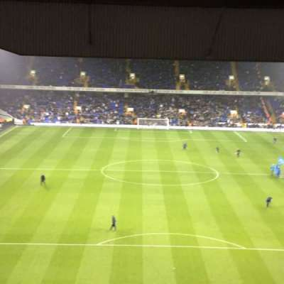 White Hart Lane, section: 53, row: 23