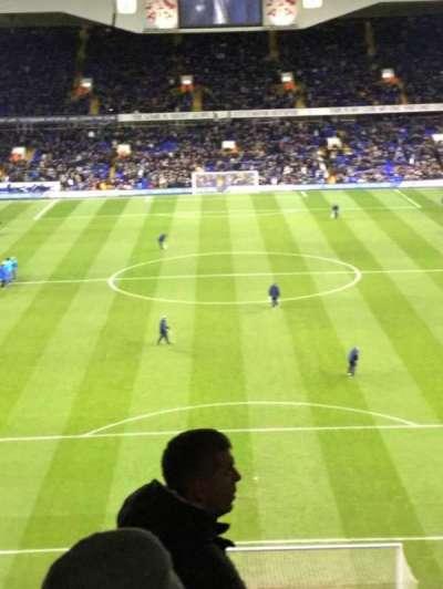 White Hart Lane, section: 43, row: 13